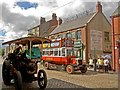 NZ2155 : Beamish Town centre : Week 34