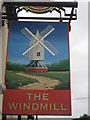 TR0160 : The Windmill, Pub Sign, Faversham by David Anstiss