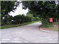 TM4274 : Blackheath Road & Star Corner Postbox by Adrian Cable