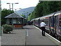 NN3104 : Arrochar and Tarbet station by Thomas Nugent