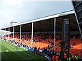 SD3134 : East Stand at Bloomfield Road, Blackpool - 2010/11 by Terry Robinson