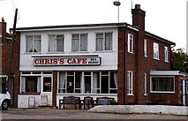 SU7995 : Chris's Cafe in Studley Green by Steve Daniels