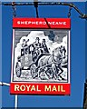 TR0420 : Royal Mail (pub sign), 8 Park Street by P L Chadwick