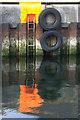 HU4741 : Ladder on the quayside, Lerwick : Week 36