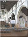 TQ2573 : St Michael's Southfields: interior by Stephen Craven