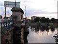 SK5838 : Trent Bridge at dusk : Week 36
