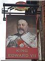 TR3670 : King Edward VII, Pub Sign, Margate by David Anstiss