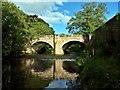 NZ4706 : Bridge of River Leven, Hutton Rudby : Week 37