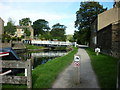 SE1837 : Walking along the Leeds to Liverpool Canal #104 by Ian S