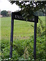 TM4476 : Union Farm Sign by Adrian Cable
