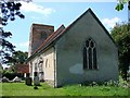 TM0655 : Badley St Mary�s church by Adrian S Pye