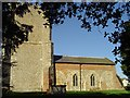 TM3440 : Bawdsey St Mary the Virgin�s church by Adrian S Pye