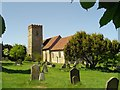 TM1241 : Belstead St Mary�s church by Adrian S Pye