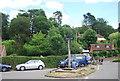 TQ0844 : Peaslake Village Sign by N Chadwick