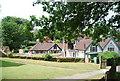 TQ0844 : View across St Mark's Churchyard, Peaslake by N Chadwick