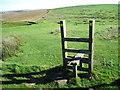 SJ9680 : Footpaths near Dale Top towards Sponds Hill by Chris Wimbush
