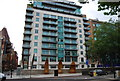 TQ3078 : Apartment block, Albert Embankment by N Chadwick