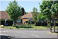 TQ8665 : Junction of School Lane and Church Lane, Newington by N Chadwick