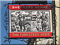 TQ5845 : The Foresters Arms sign by Oast House Archive