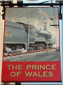 TQ2550 : The Prince of Wales sign by Oast House Archive
