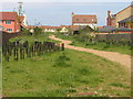 TL3159 : Footpath between phases LC01 and LC02, Lower Cambourne by John Brightley