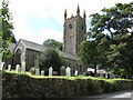SX2468 : The Church of St. Clarus,  St. Cleer, Cornwall by Derek Voller