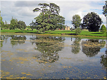 SO8744 : The Lake at Croome Park by Trevor Rickard