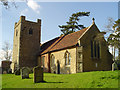 TM2247 : Little Bealings All Saints church by Adrian S Pye