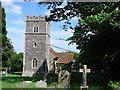 TM1048 : Little Blakenham St Mary�s church by Adrian S Pye