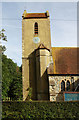 TQ3146 : St John the Baptist, Outwood, Surrey - Tower by John Salmon