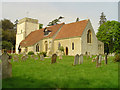 TM2139 : Nacton St Martin�s church by Adrian S Pye