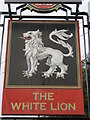 TR0456 : The White Lion, Pub Sign, Selling by David Anstiss