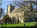 TM4249 : Orford St Bartholomew�s church by Adrian S Pye