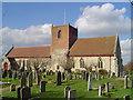 TM5093 : Oulton St Michael�s church by Adrian S Pye