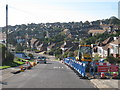 TQ3506 : Roadworks on Balsdean Road by Oast House Archive