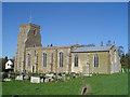 TM3060 : Parham St Mary�s church by Adrian S Pye