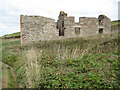 SW6522 : Ruin at Gunwalloe by Philip Halling