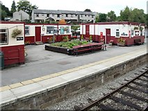 SK2854 : Railway Station, Wirksworth by Dave Hitchborne