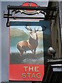 TQ3204 : The Stag Inn sign by Oast House Archive