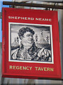 TQ3004 : Regency Tavern sign by Oast House Archive
