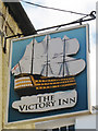 TQ3004 : The Victory Inn sign by Oast House Archive