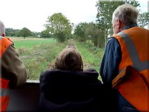 SK3244 : Ecclesbourne Valley Railway, near Hazelwood by Dave Hitchborne