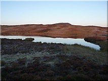 SH8514 : Llyn Foeldinas at dawn by Richard Law