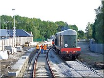 SK3443 : Railway Station, Duffield by Dave Hitchborne