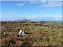 SH8115 : The summit cairn of Craig Rhiwerch by Richard Law