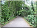 TR1234 : Access road from Lympne Castle by David Anstiss