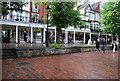 TQ5838 : Fishmarket, The Pantiles by N Chadwick