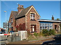 SJ6852 : Disused railway station at Willaston near to Crewe by Margaret Sutton