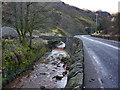 SD9125 : River Calder and Burnley Road by Alexander P Kapp
