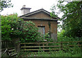 SJ4413 : Former lodge near Bicton Heath by Stephen Richards